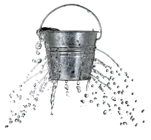 losing customers as a leaky bucket
